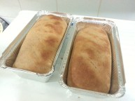 Freshly baked Whole Wheat Bread Loaves. Perfect for sandwiches.