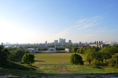 Overlooking Greenwich