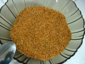 Coconut and Sesame Seeds Mix