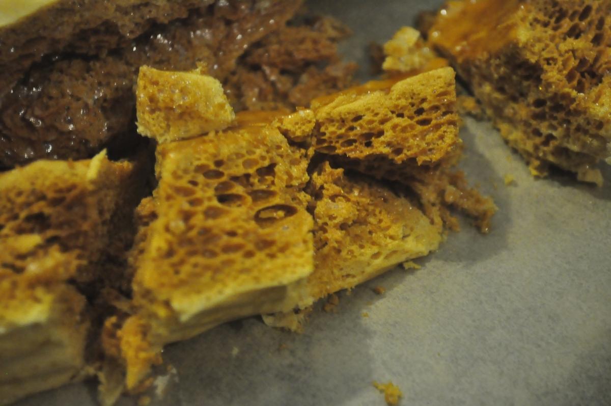 Honeycomb Boulders